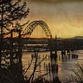 Early Morning At The Yaquina Bay Bridge  by Thom Zehrfeld