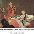 Early Morning Chocolate by John Saunders