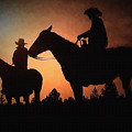 Early Morning Cowboys by Tommy Anderson