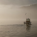 Early Morning Fishing Boat by Chad Davis