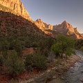 Early Morning Hike At Zion National Park  by Hany J