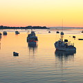 Early Morning In Chatham Harbor by Roupen  Baker