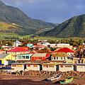 Early Morning Light Basseterre St Kitts by Thomas R Fletcher