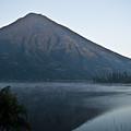 Early Morning Mist Lake Atitlan Guatemala by Douglas Barnett