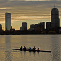Early Morning On The Charles River by Ken Stampfer