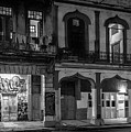 Early Morning Paseo Del Prado Havana Cuba Bw by Joan Carroll