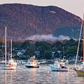 Early Morning, Southwest Harbor, Maine #32416 by John Bald