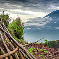 Early Morning View Over Lake Batur - Danau Batur - From Mount Batur by Global Light Photography - Nicole Leffer