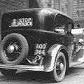 Early Police Car by Topical Press Agency