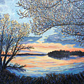 Early Spring Sunset by James O'Connell