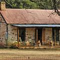 Early Texas Farm House by Robert Anschutz