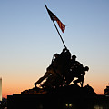 Early Washington Mornings - Iwo Jima Memorial by Ronald Reid
