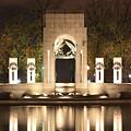 Early Washington Mornings - World War II Memorial - Pacific Theater by Ronald Reid