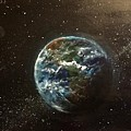 Earth From Above  by Sarah Kleinhans