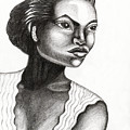 Eartha Kitt by Genevieve Esson