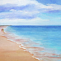 East Beach I by Janet Zeh