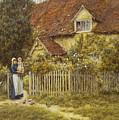 East End Farm Moss Lane Pinner by Helen Allingham