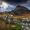 East Face Tryfan Snowdonia by Adrian Evans