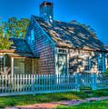 East Hampton Antique Cottage by Stan Dzugan