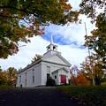 East Jewett Church by Donna Cavanaugh
