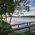 East Lake Winona Fishing Pier by Kari Yearous