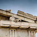 East Pediment - Parthenon by Debra Martz