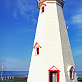 East Point Lightstation Pei by Thomas R Fletcher