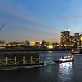 East River Traffic New York by Ken Lerner