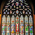 East Stained Glass Window Christ Church Cathedral 1 by Mark Sellers