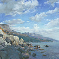 East View. A Seascape In The Vicinity Of Foros Mmxi by Denis Chernov