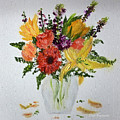 Easter Arrangement by Dick Bourgault