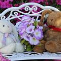 Easter Bunnies by Gayle Miller
