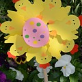 Easter Chick Decoration by Kathleen Struckle