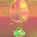 Easter Egg by Sandra Bauser Digital Art