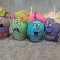 Easter Eggs by Cindy Murphy - NightVisions