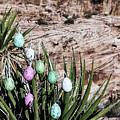 Easter Eggs On The Tree by Evgeniya Lystsova