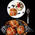 Easter Hot Cross Buns  by Nicholas Burningham