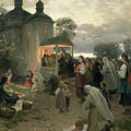 Easter Matins by Nikolai Pimonenko