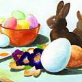 Easter Morning Still Life by Scott Kirkman