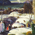 Easter Snow by George Wesley Bellows