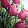 Easter Tulips by Conni  Reinecke