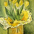 Easter Tulips by Maria Langgle
