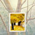 Eastern Autumn by Nancy  Ethiel