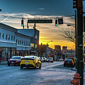 Eastern Avenue Sunset by Jim Archer