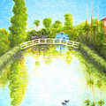 Eastern Canal Impression by Jerome Stumphauzer