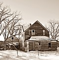 Eastern Montana Farmhouse Sepia by Chalet Roome-Rigdon