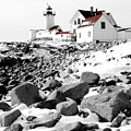 Eastern Point Light by Greg Fortier