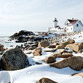 Eastern Point Light II by Greg Fortier