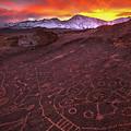 Eastern Sierra Petrolpyh Sunset by Nolan Nitschke