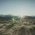Eastern Sierra Sunset by Margaret Pitcher